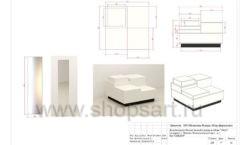 Дизайн проект магазина обуви Sbalo ТРЦ Спектр торговое оборудование СТИЛЬ ЛОФТ Лист 17