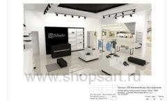Дизайн проект магазина обуви Sbalo ТРЦ Спектр торговое оборудование СТИЛЬ ЛОФТ Лист 20