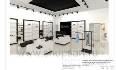 Дизайн проект магазина обуви Sbalo ТРЦ Спектр торговое оборудование СТИЛЬ ЛОФТ Лист 22