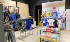 Торговое оборудование детского магазина одежды ОДЕВАЙС коллекция РАДУГА Фото 03