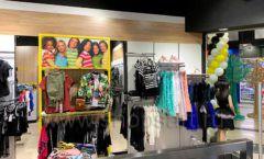Торговое оборудование детского магазина одежды ОДЕВАЙС коллекция РАДУГА Фото 05