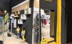 Торговое оборудование детского магазина одежды ОДЕВАЙС коллекция РАДУГА Фото 09