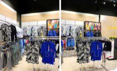 Торговое оборудование детского магазина одежды ОДЕВАЙС коллекция РАДУГА Фото 11