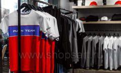 Торговое оборудование бутика спортивной одежды PUTIN TEAM коллекция ЛОФТ Фото 05