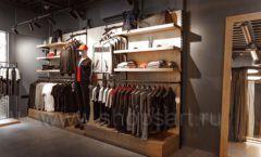 Торговое оборудование бутика спортивной одежды PUTIN TEAM коллекция ЛОФТ Фото 06