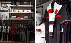 Торговое оборудование бутика спортивной одежды PUTIN TEAM коллекция ЛОФТ Фото 10