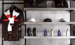 Торговое оборудование бутика спортивной одежды PUTIN TEAM коллекция ЛОФТ Фото 14