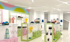 Дизайн интерьера детского магазина Стрекоза коллекция торгового оборудования АКВАРЕЛИ Дизайн 05