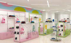 Дизайн интерьера детского магазина Стрекоза коллекция торгового оборудования АКВАРЕЛИ Дизайн 16