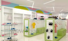 Дизайн интерьера детского магазина Стрекоза коллекция торгового оборудования АКВАРЕЛИ Дизайн 19