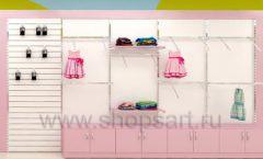 Дизайн интерьера детского магазина Стрекоза коллекция торгового оборудования АКВАРЕЛИ Дизайн 20