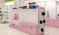 Дизайн интерьера детского магазина Стрекоза коллекция торгового оборудования АКВАРЕЛИ Дизайн 21