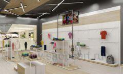 Дизайн детского магазина OLDOS KIDS коллекция торгового оборудования АКВАРЕЛИ Дизайн 15