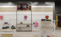 Дизайн детского магазина OLDOS KIDS коллекция торгового оборудования АКВАРЕЛИ Дизайн 20