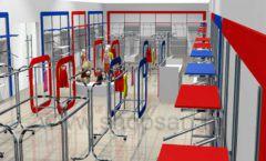 Дизайн детского магазина Дочки-Сыночки коллекция торгового оборудования АКВАРЕЛИ Дизайн 4