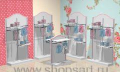 Дизайн детского магазина торговое оборудование ПРЕМИУМ Дизайн 2