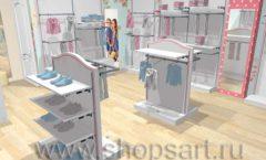 Дизайн детского магазина торговое оборудование ПРЕМИУМ Дизайн 3