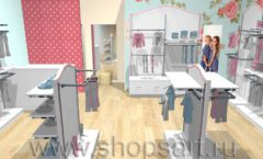 Дизайн детского магазина торговое оборудование ПРЕМИУМ Дизайн 4