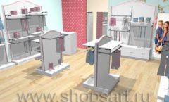 Дизайн детского магазина торговое оборудование ПРЕМИУМ Дизайн 5