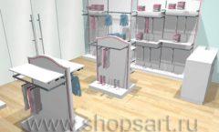 Дизайн детского магазина торговое оборудование ПРЕМИУМ Дизайн 6