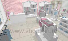 Дизайн детского магазина 1 торговое оборудование МОНАЛИЗА Дизайн 3
