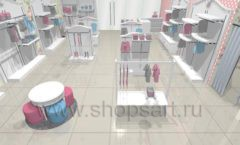 Дизайн детского магазина 1 торговое оборудование МОНАЛИЗА Дизайн 4