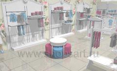 Дизайн детского магазина 1 торговое оборудование МОНАЛИЗА Дизайн 5