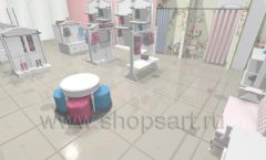 Дизайн детского магазина 1 торговое оборудование МОНАЛИЗА Дизайн 6