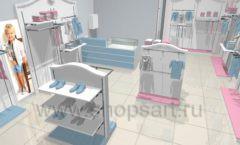Дизайн детского магазина 2 торговое оборудование МОНАЛИЗА Дизайн 2