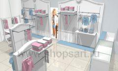 Дизайн детского магазина 2 торговое оборудование МОНАЛИЗА Дизайн 3