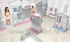 Дизайн детского магазина 2 торговое оборудование МОНАЛИЗА Дизайн 4