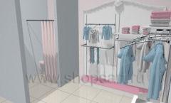 Дизайн детского магазина 2 торговое оборудование МОНАЛИЗА Дизайн 6