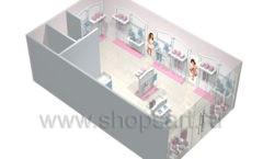 Дизайн детского магазина 2 торговое оборудование МОНАЛИЗА Дизайн 7