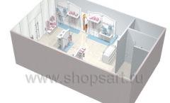 Дизайн детского магазина 2 торговое оборудование МОНАЛИЗА Дизайн 9