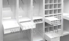 Дизайн торгового оборудования детского магазина Винни Рублевкое шоссе коллекция БЕЛАЯ КЛАССИКА Дизайн 1