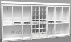 Дизайн торгового оборудования детского магазина Винни Рублевкое шоссе коллекция БЕЛАЯ КЛАССИКА Дизайн 2