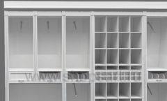 Дизайн торгового оборудования детского магазина Винни Рублевкое шоссе коллекция БЕЛАЯ КЛАССИКА Дизайн 4