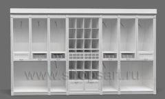 Дизайн торгового оборудования детского магазина Винни Рублевкое шоссе коллекция БЕЛАЯ КЛАССИКА Дизайн 5