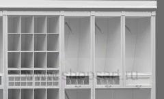 Дизайн торгового оборудования детского магазина Винни Рублевкое шоссе коллекция БЕЛАЯ КЛАССИКА Дизайн 6