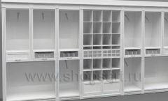 Дизайн торгового оборудования детского магазина Винни Рублевкое шоссе коллекция БЕЛАЯ КЛАССИКА Дизайн 7
