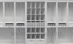 Дизайн торгового оборудования детского магазина Винни Рублевкое шоссе коллекция БЕЛАЯ КЛАССИКА Дизайн 8