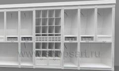 Дизайн торгового оборудования детского магазина Винни Рублевкое шоссе коллекция БЕЛАЯ КЛАССИКА Дизайн 9