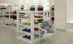 Дизайн детского магазина Винни ТЦ Dream House Барвиха коллекция торгового оборудования БЕЛАЯ КЛАССИКА Дизайн 02