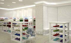 Дизайн детского магазина Винни ТЦ Dream House Барвиха коллекция торгового оборудования БЕЛАЯ КЛАССИКА Дизайн 03
