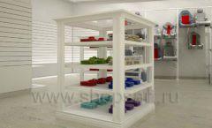 Дизайн детского магазина Винни ТЦ Dream House Барвиха коллекция торгового оборудования БЕЛАЯ КЛАССИКА Дизайн 04
