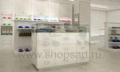 Дизайн детского магазина Винни ТЦ Dream House Барвиха коллекция торгового оборудования БЕЛАЯ КЛАССИКА Дизайн 05