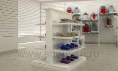 Дизайн детского магазина Винни ТЦ Dream House Барвиха коллекция торгового оборудования БЕЛАЯ КЛАССИКА Дизайн 08