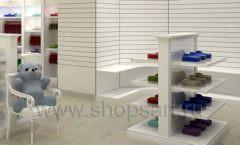 Дизайн детского магазина Винни ТЦ Dream House Барвиха коллекция торгового оборудования БЕЛАЯ КЛАССИКА Дизайн 09