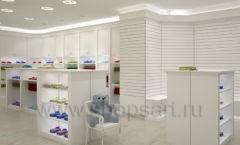 Дизайн детского магазина Винни ТЦ Dream House Барвиха коллекция торгового оборудования БЕЛАЯ КЛАССИКА Дизайн 10