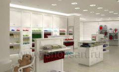 Дизайн детского магазина Винни ТЦ Dream House Барвиха коллекция торгового оборудования БЕЛАЯ КЛАССИКА Дизайн 12